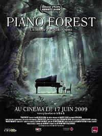affiche sortie dvd piano forest
