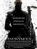 affiche sortie dvd Anonymous