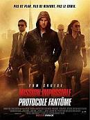 affiche sortie dvd mission impossible 4 - protocole fantome