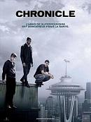 affiche sortie dvd Chronicle