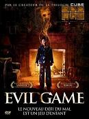 affiche sortie dvd evil game