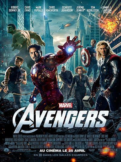 sortie dvd bluray Avengers