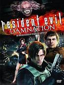 affiche sortie dvd resident evil - damnation