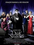 affiche sortie dvd Dark Shadows