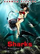 affiche sortie dvd sharks - silencieux et mortels