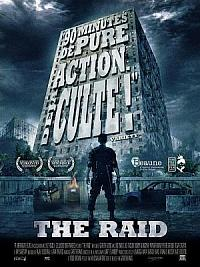 sortie dvd the raid
