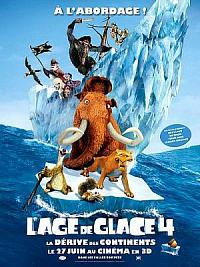 sortie dvd l'age de glace 4 - la derive des continents
