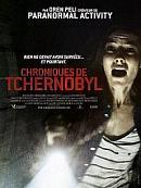 affiche sortie dvd chroniques de tchernobyl