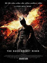 affiche sortie dvd Batman - The Dark Knight Rises