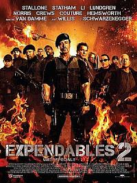 sortie dvd expendables 2 - unite speciale