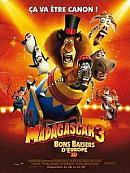 affiche sortie dvd madagascar 3, bons baisers d'europe