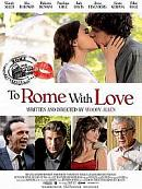 affiche sortie dvd To Rome with Love