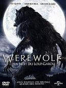affiche sortie dvd werewolf - la nuit de loup-garou