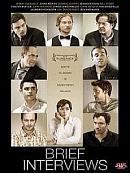 affiche sortie dvd Brief Interviews