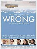 affiche sortie dvd Wrong