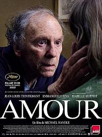 affiche sortie dvd Amour