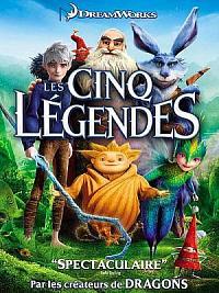 sortie dvd les cinq legendes