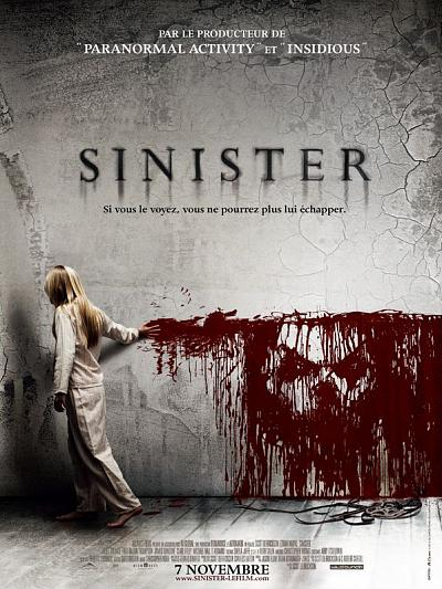 sortie vod, dvd et blu-ray Sinister