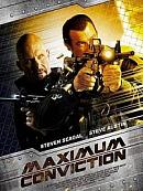 affiche sortie dvd Maximum Conviction