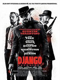 affiche sortie dvd django unchained