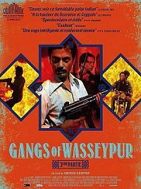 affiche sortie dvd gangs of wasseypur - 2eme partie