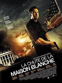affiche sortie dvd la chute de la maison blanche