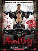 affiche sortie dvd hansel & gretel - chasseurs de sorcieres