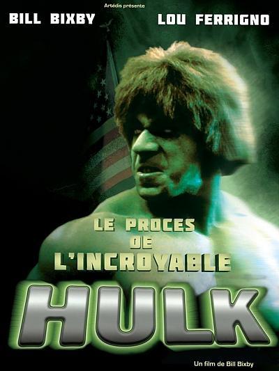 sortie dvd Le procès de l'incroyable Hulk