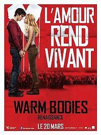 affiche sortie dvd warm bodies - renaissance
