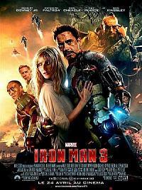 affiche sortie dvd iron man 3