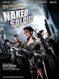 affiche sortie dvd Naked Soldier