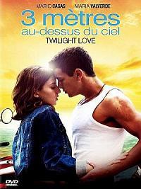 affiche sortie dvd twilight love - 3 metres au-dessus du ciel
