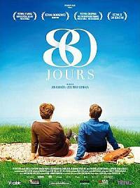 affiche sortie dvd 80 jours