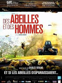 affiche sortie dvd des abeilles et des hommes