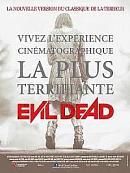 affiche sortie dvd evil dead