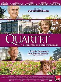 affiche sortie dvd quartet