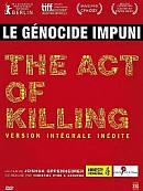 affiche sortie dvd the act of killing - l'acte de tuer