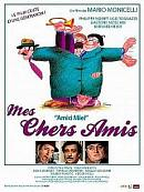 affiche sortie dvd mes chers amis