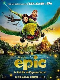 affiche sortie dvd epic - la bataille du royaume secret