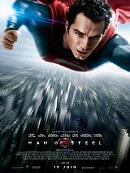 affiche sortie dvd Man of Steel