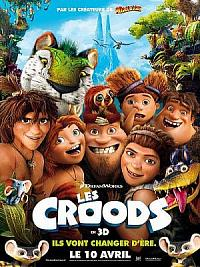 affiche sortie dvd les croods