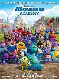 affiche sortie dvd monstres academy
