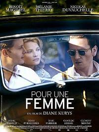affiche sortie dvd pour une femme