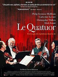 affiche sortie dvd le quatuor