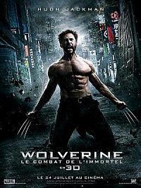 affiche sortie dvd wolverine - le combat de l'immortel