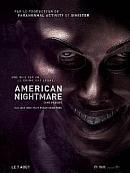 affiche sortie dvd american nightmare