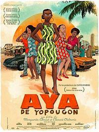 affiche sortie dvd aya de yopougon