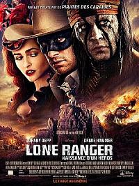 affiche sortie dvd lone ranger, naissance d'un heros