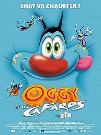 affiche sortie dvd oggy et les cafards
