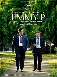 affiche sortie dvd jimmy p - psychotherapie d'un indien des plaines